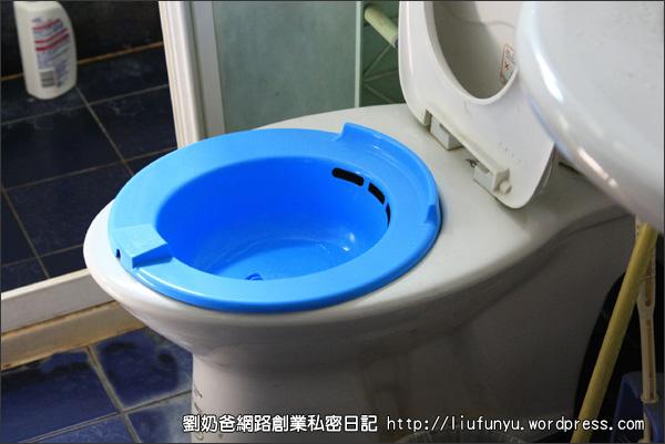 溫水坐浴泡盆