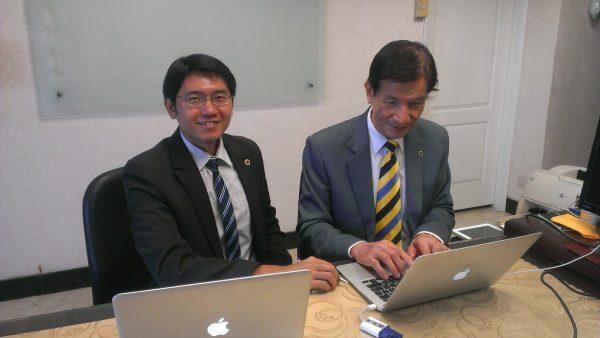 74歲的群英企管公司 吳政宏顧問